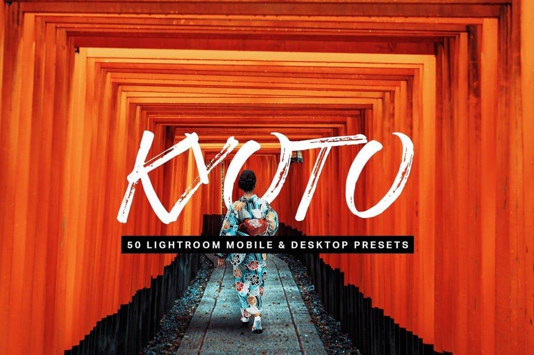 Kyoto - 50 Lightroom Presets
