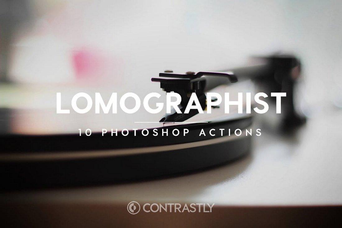 Lomographist - Retro Vintage Photoshop Actions