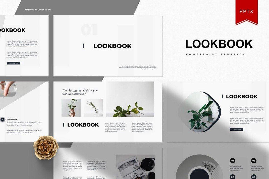 Lookbook -Simple Powerpoint Template