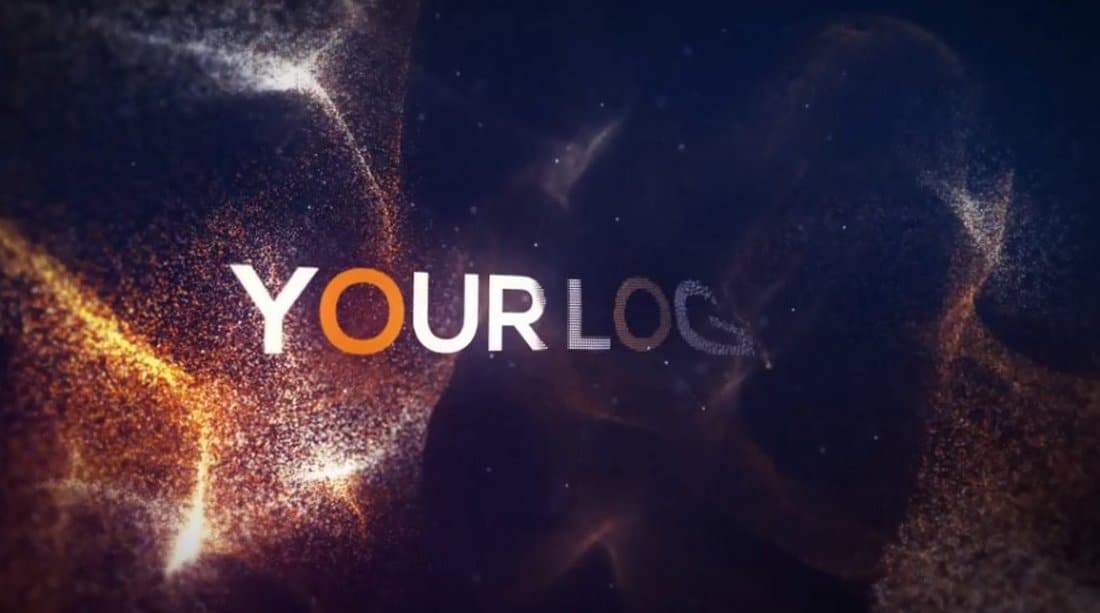 Macro Particles After Effects Intro Template