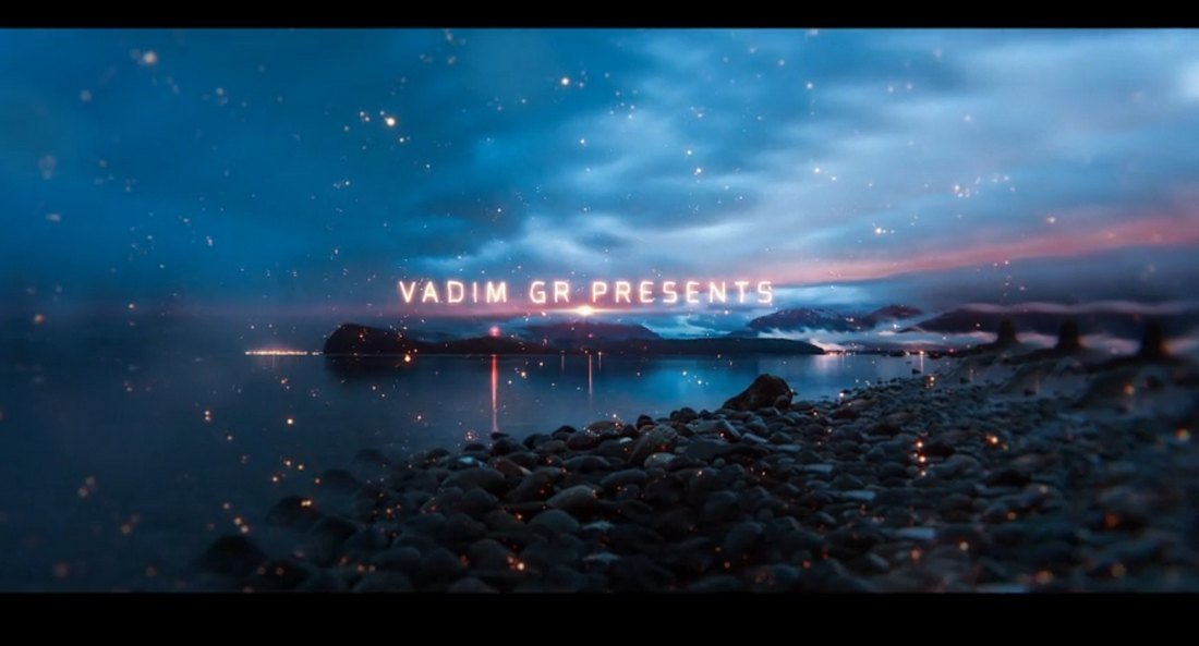 Magic Parallax Slideshow Template for After Effects