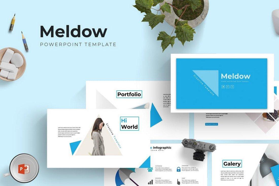 Meldow - Cool Powerpoint Template