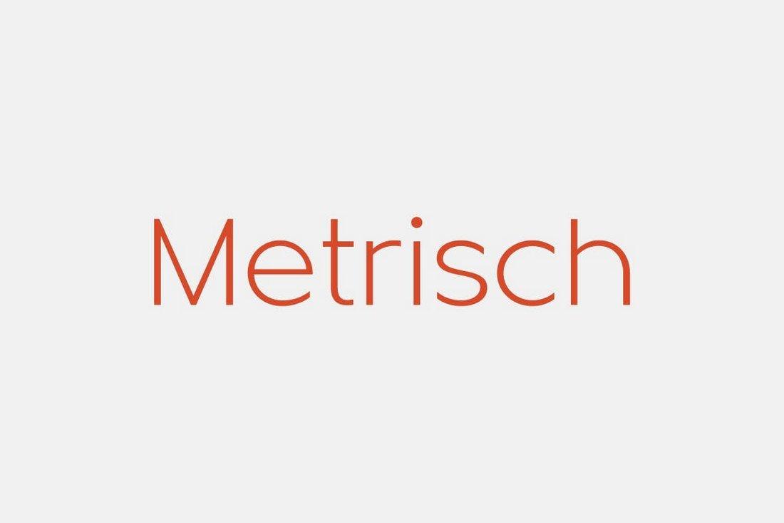 Metrisch - Sans-Serif Font Family