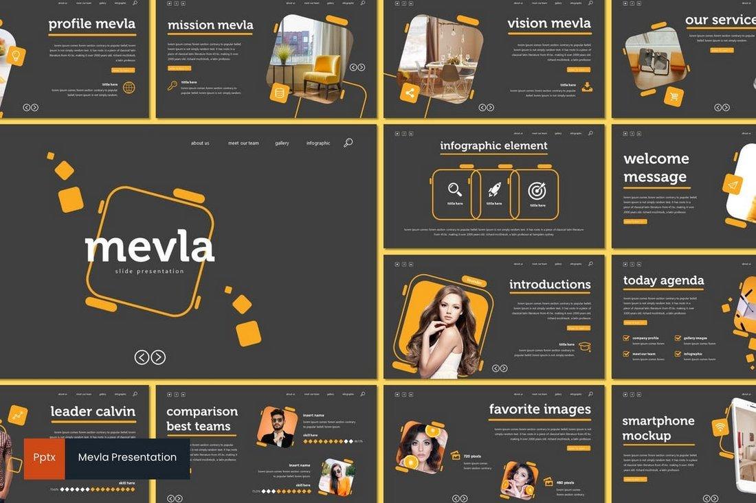 Mevla - Creative Powerpoint Template