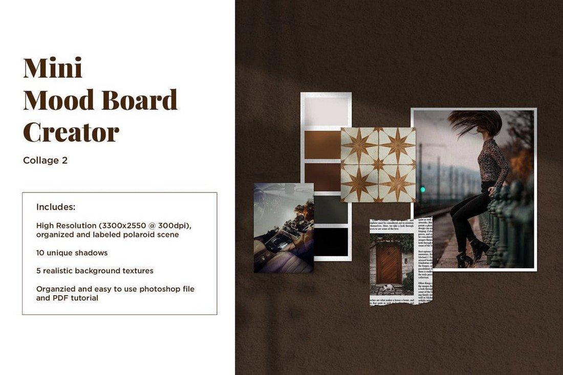 Mini Mood Board - Photo Collage Template