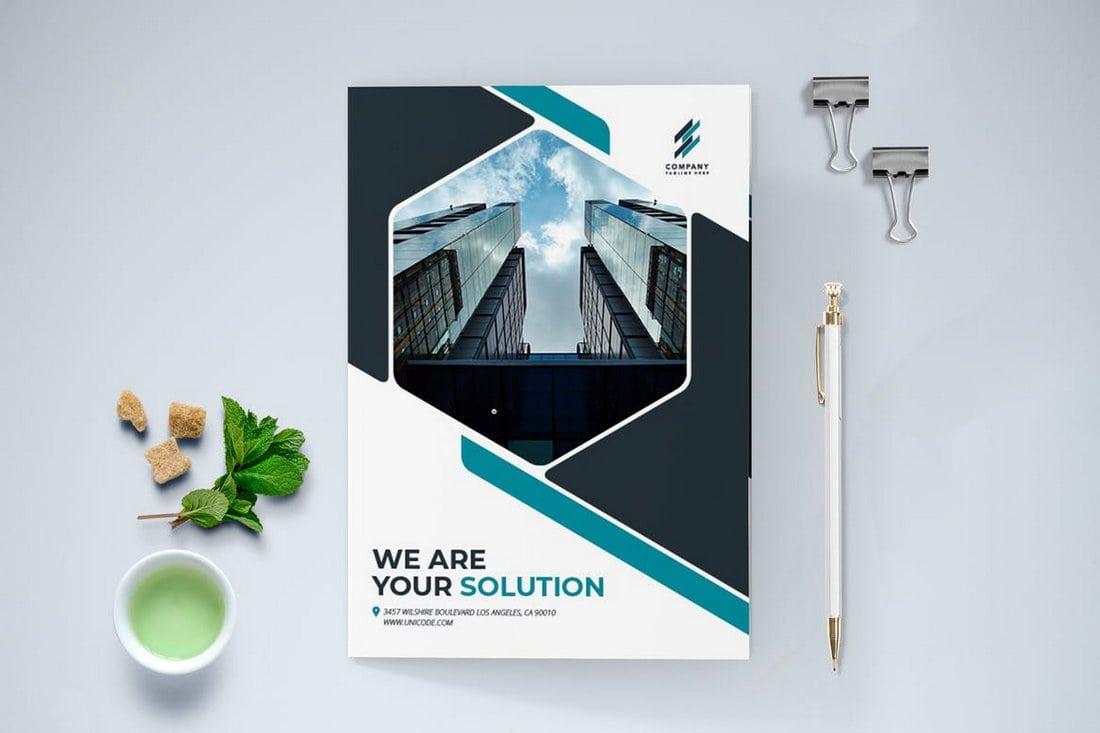 Modern Bifold Brochure Template