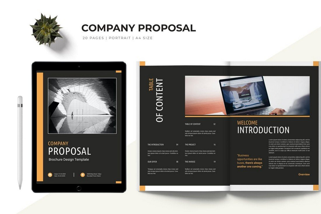 Modern Business Proposal Word Template