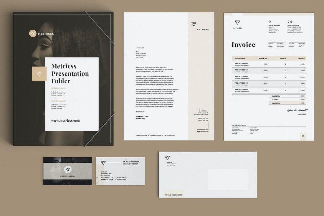 Modern Stationery Templates Bundle