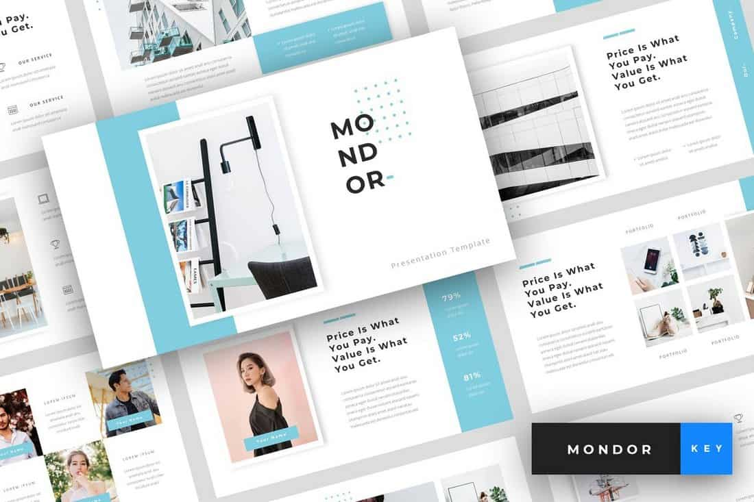 Mondor - Corporate Keynote Template