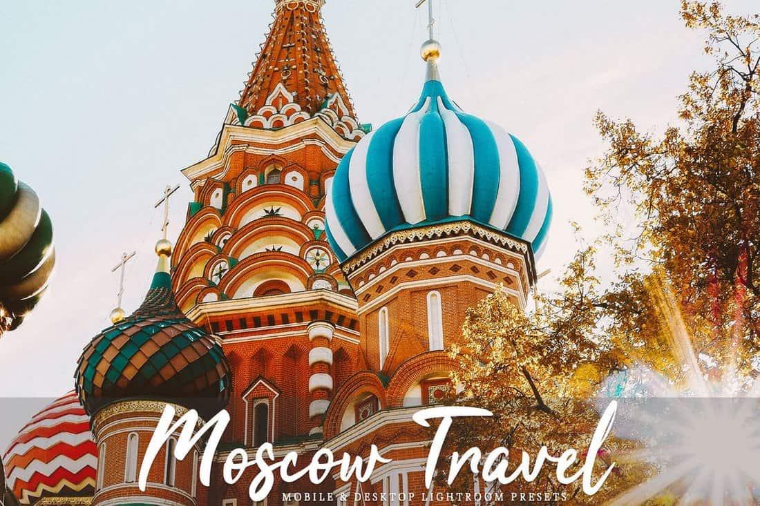 Moscow Travel Mobile & Desktop Lightroom Presets