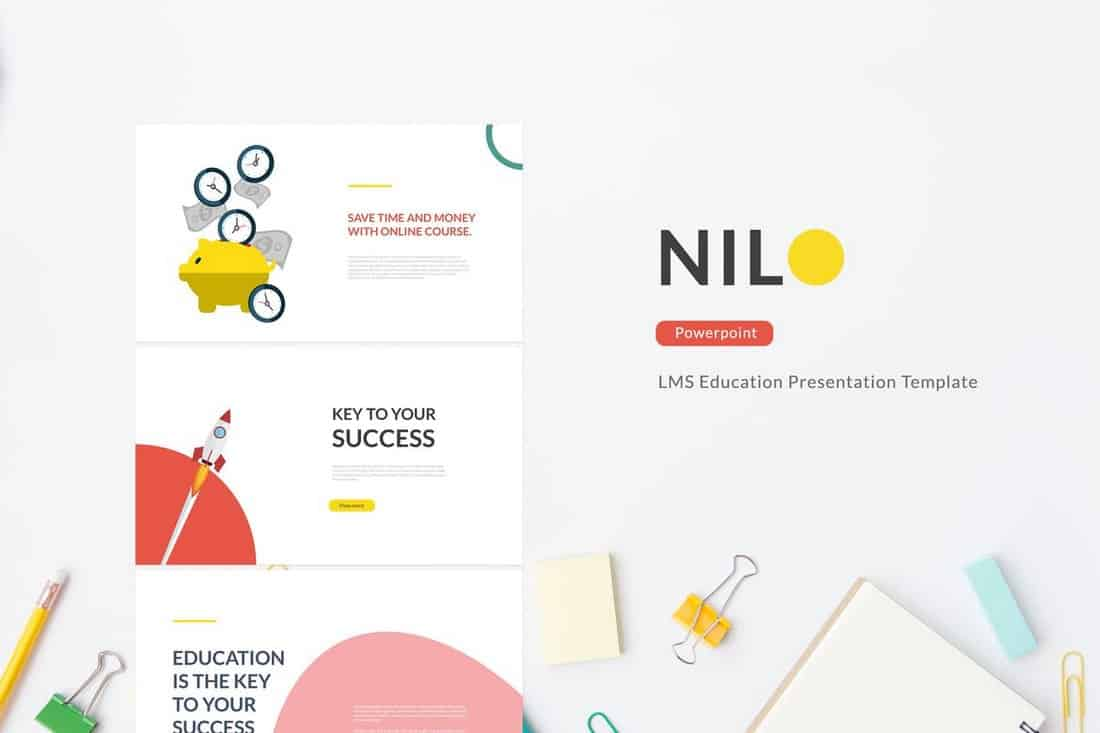 Nilo - Education Powerpoint Template