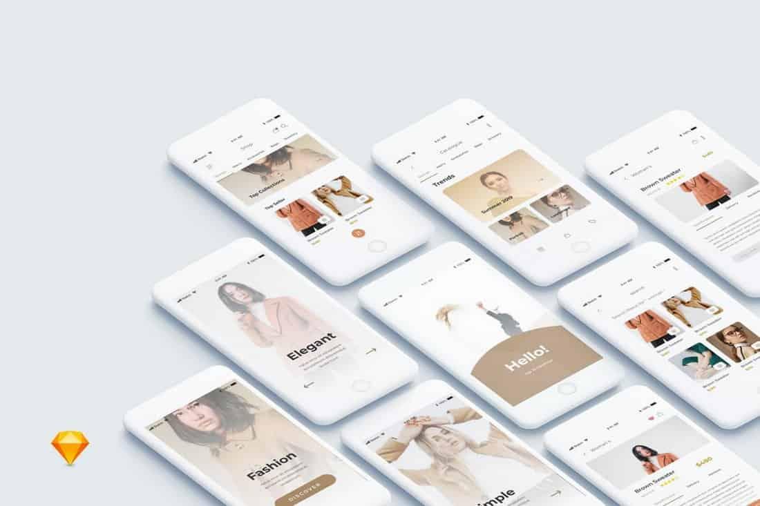 One Shopping - Shop Mobile App Ui Kit