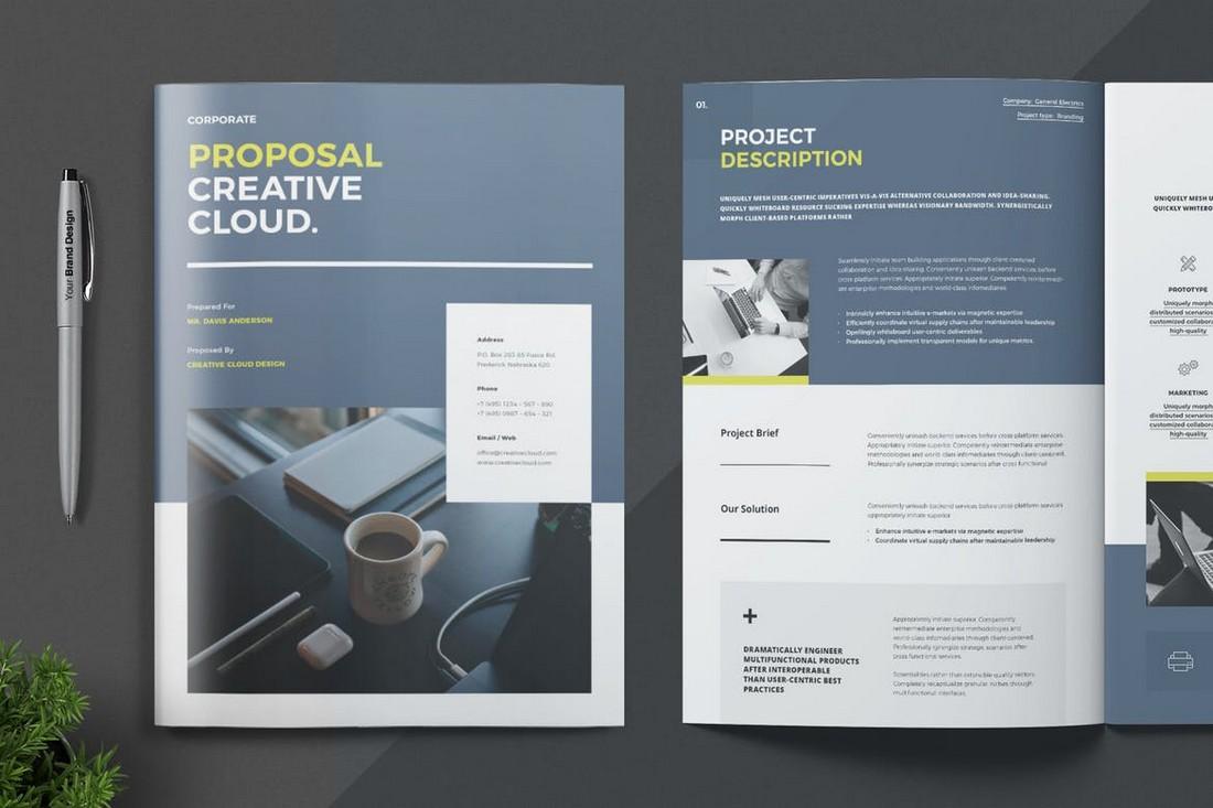 Proposal brochure