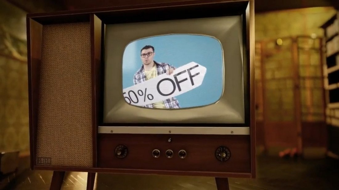 Retro TV Opener After Effects Intro Templates