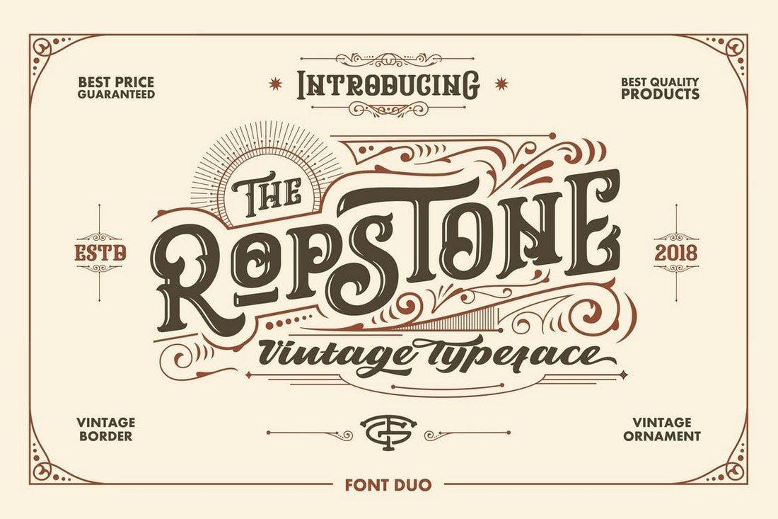 Ropstone Typeface