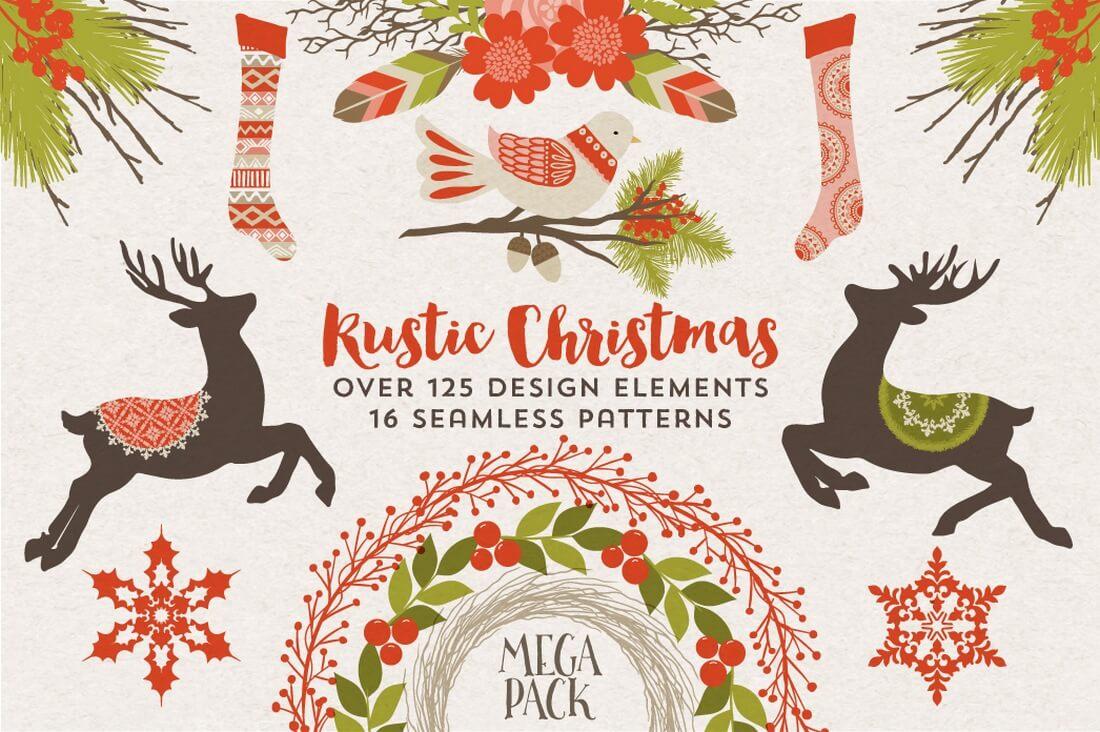rustic-christmas-megapack