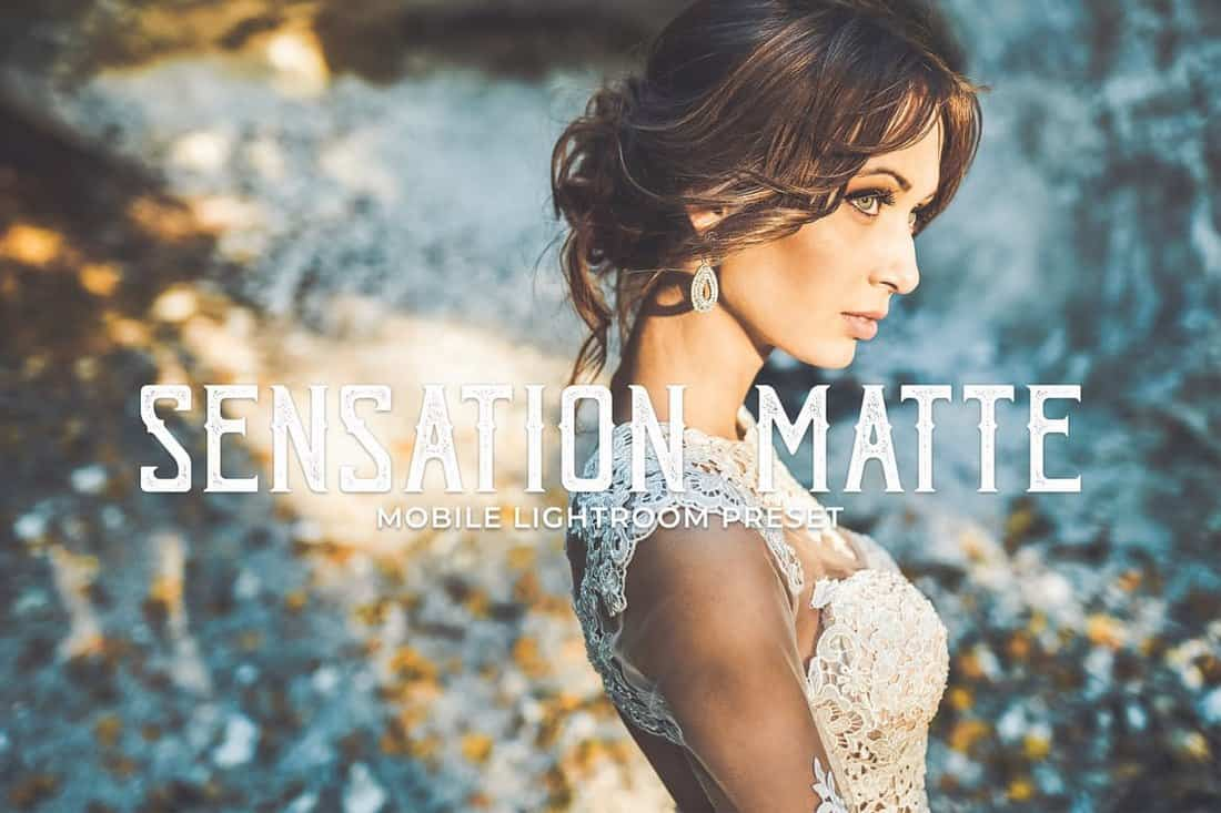 Sensation Matte Filters Mobile & Desktop Lightroom Presets