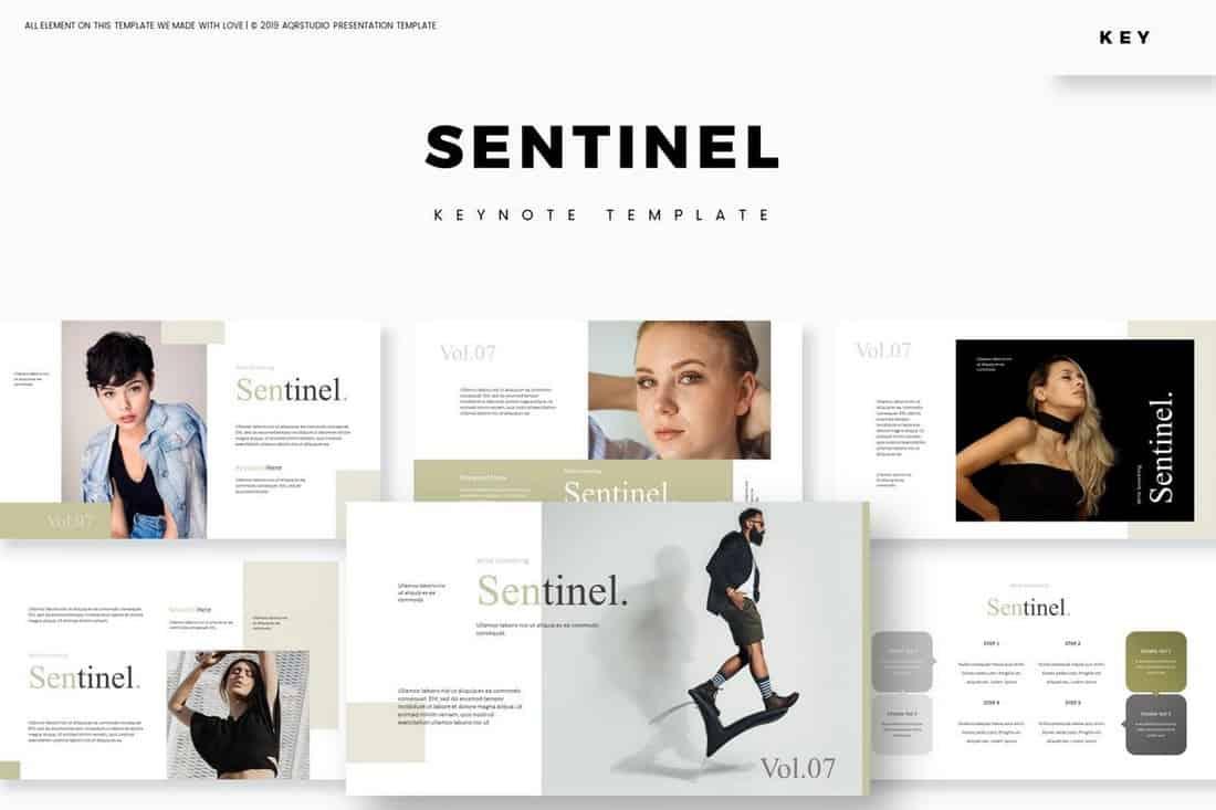 Sentinel - Fashion Keynote Template