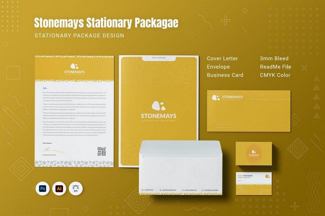 Stonemays - Modern Stationery Templates Kit