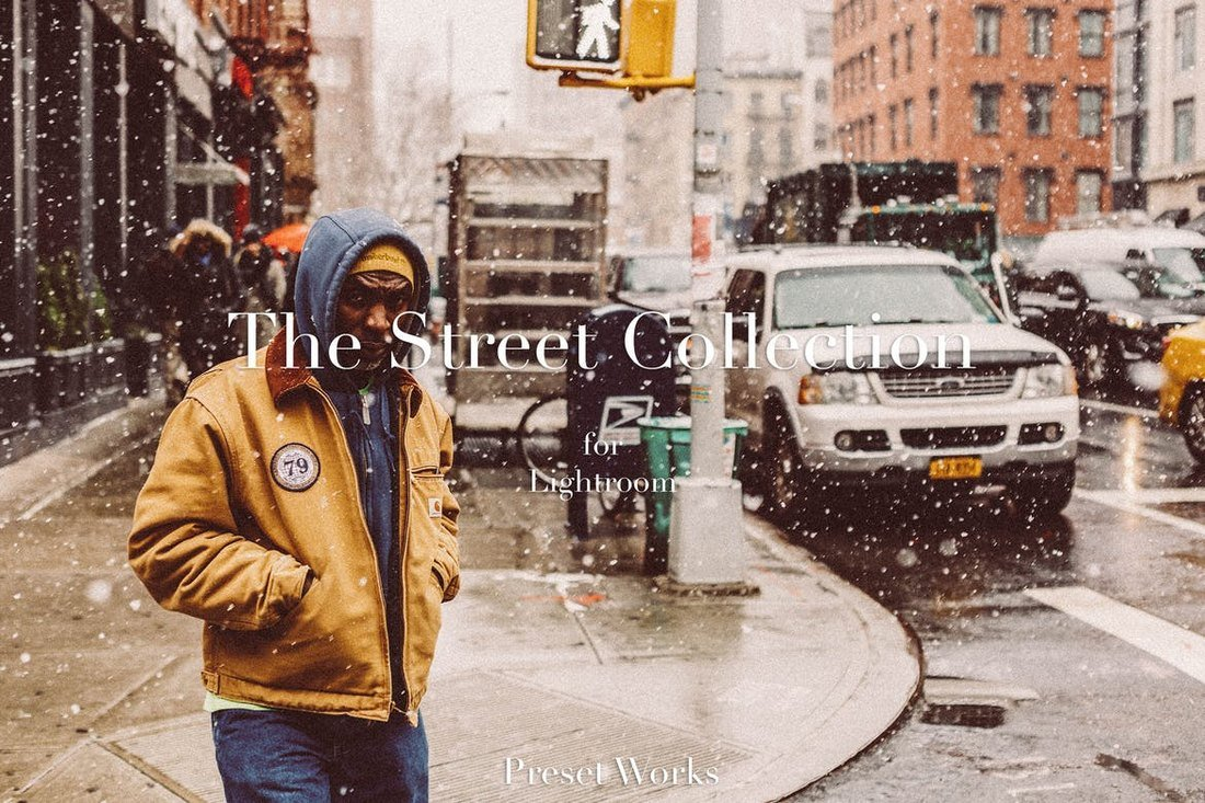 Street Photography Lightroom Presets