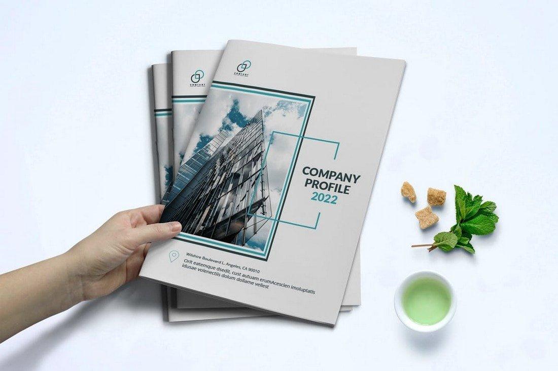 Stylish Corporate Company Profile Brochure