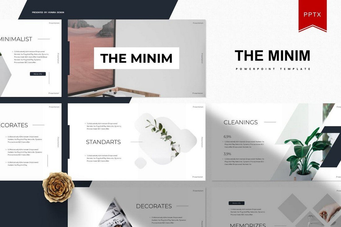 The Minim - Minimal PowerPoint Template