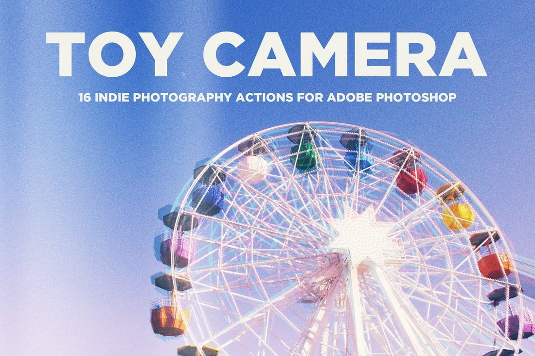 Toy Camera - Instagram Photoshop Actions