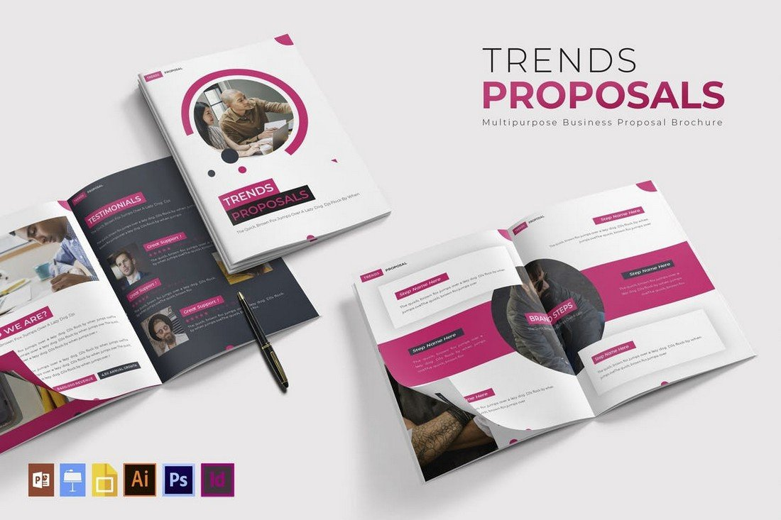Trends - Business Proposal Brochure Template