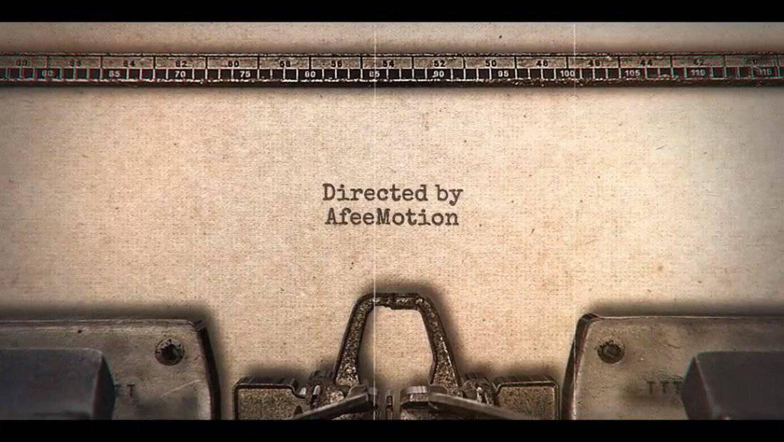 Typewriter Stomp Intro After Effects Template