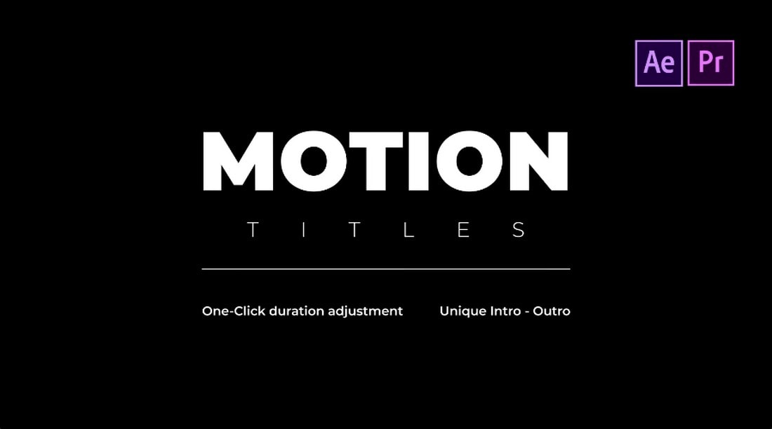 TypoSnap - Motion Titles for Premiere Pro