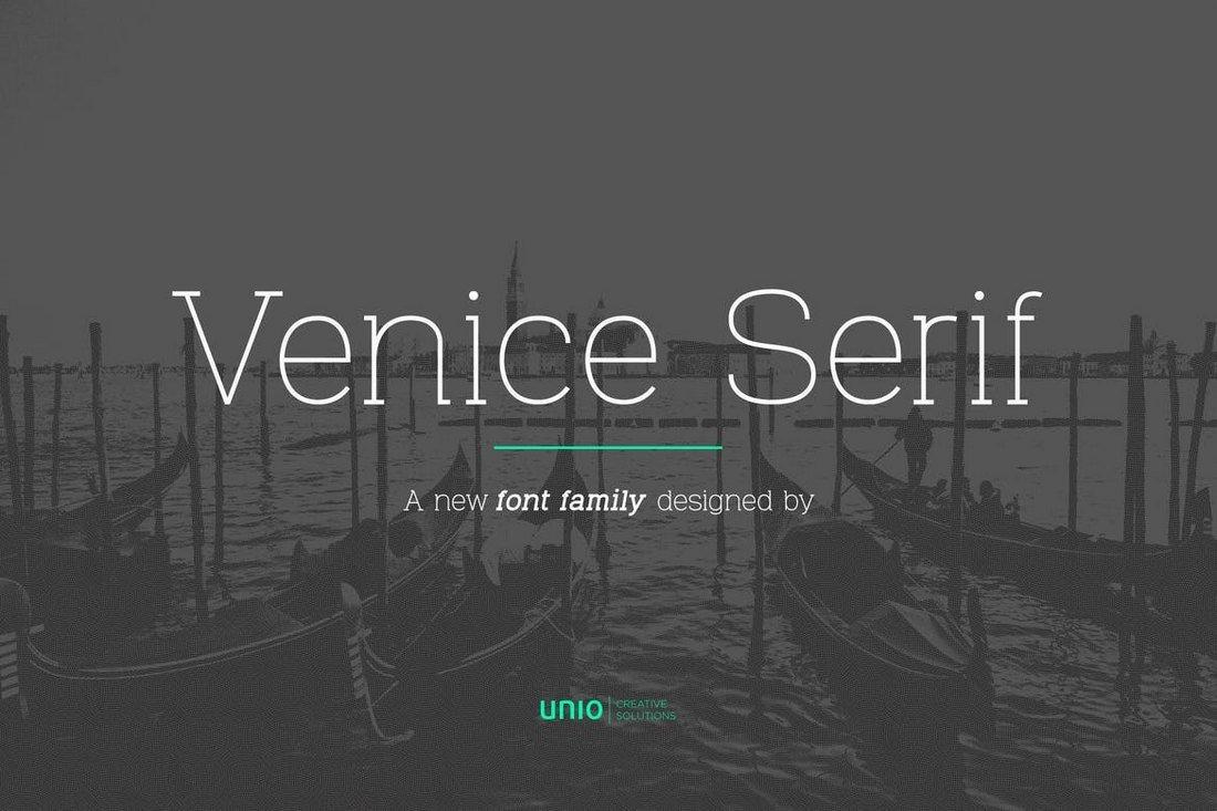 Venice Serif - Font Family