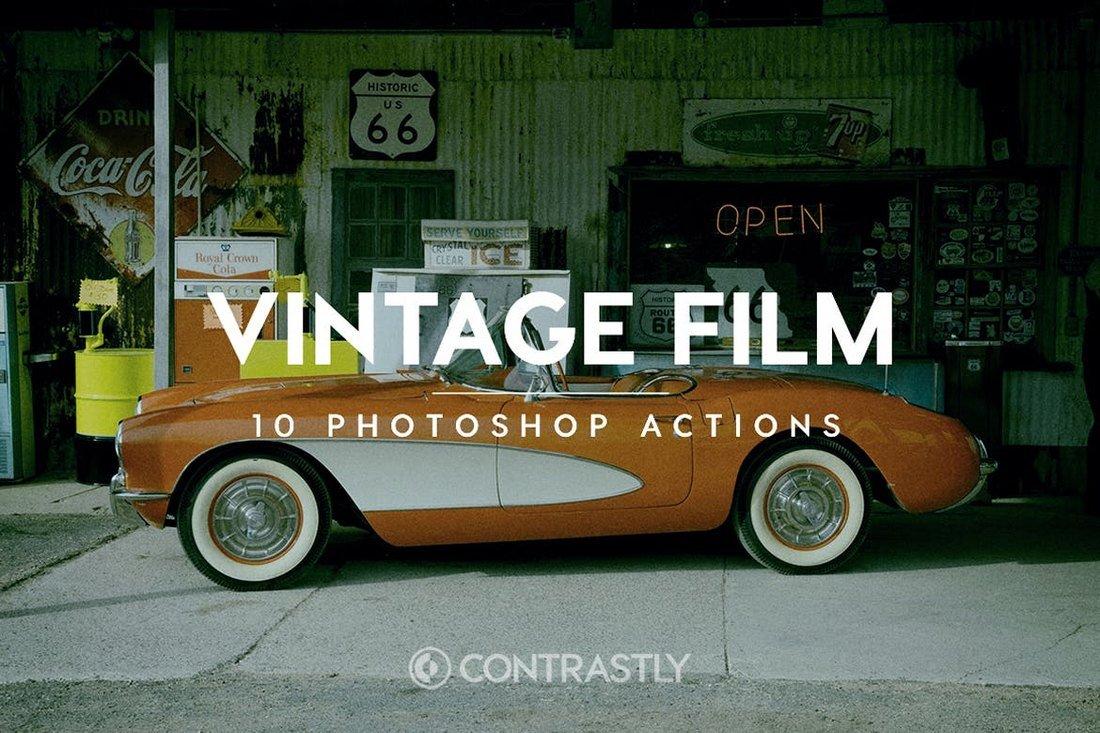 Vintage Film - Instagram Filters For Photoshop
