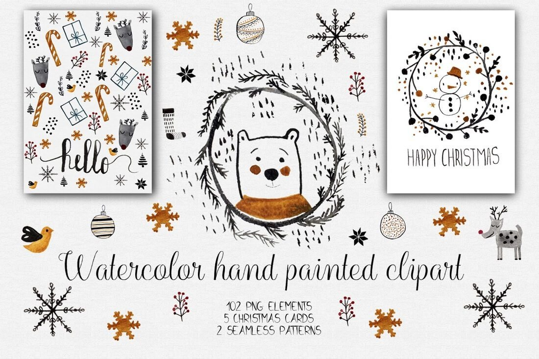 watercolor-christmas-clipart