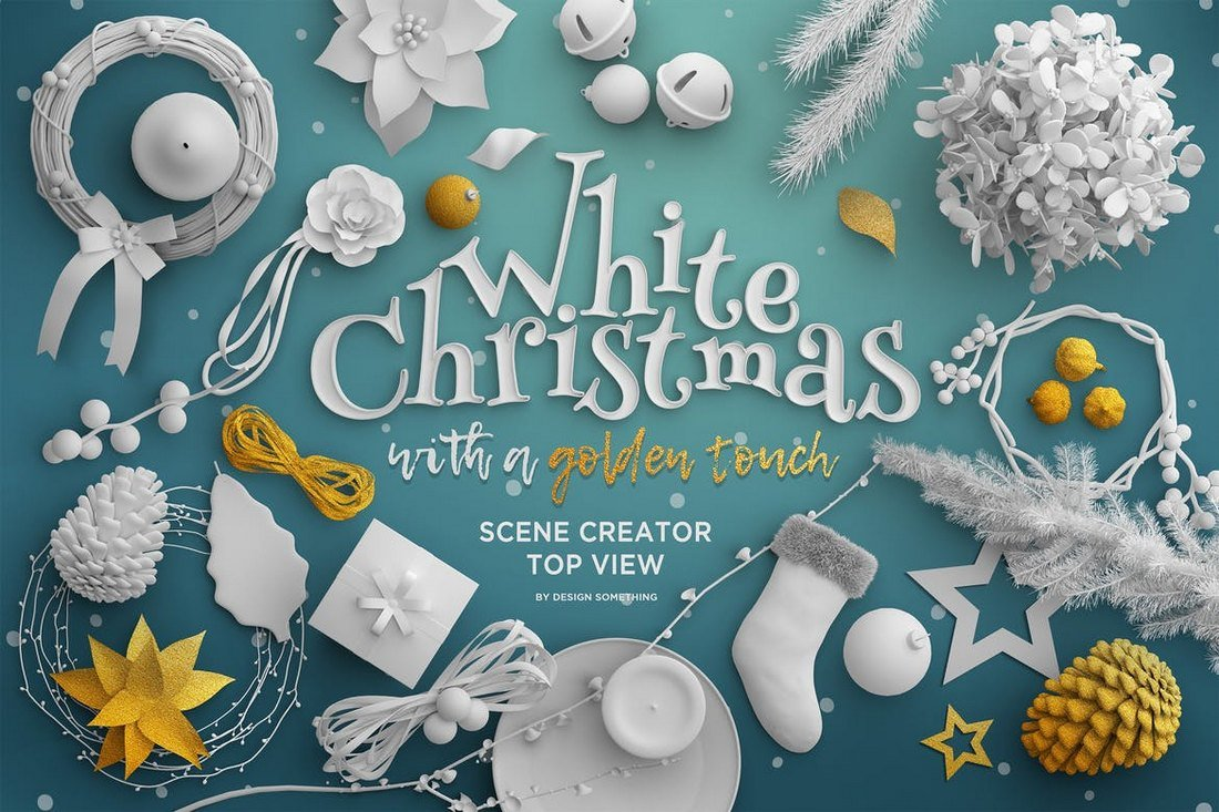 White Christmas - Scene Creator