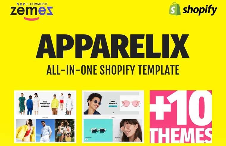 Apparelix - Clean Multipurpose Shopify Theme.