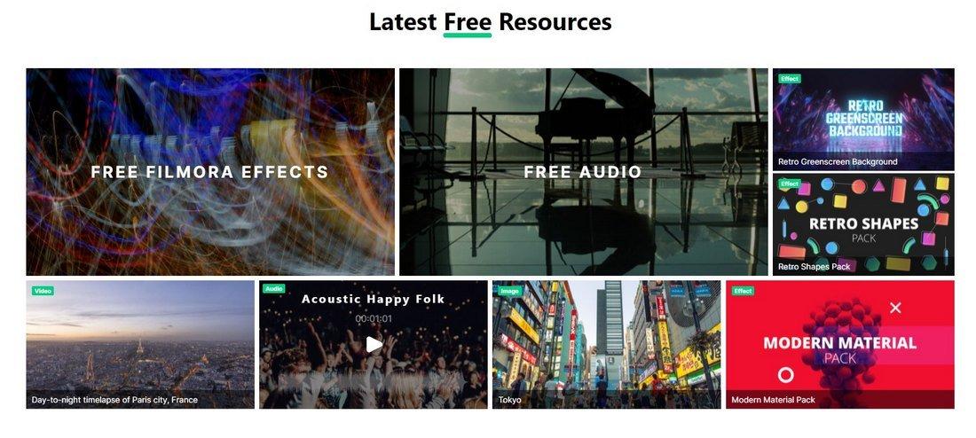 filmstock free resources