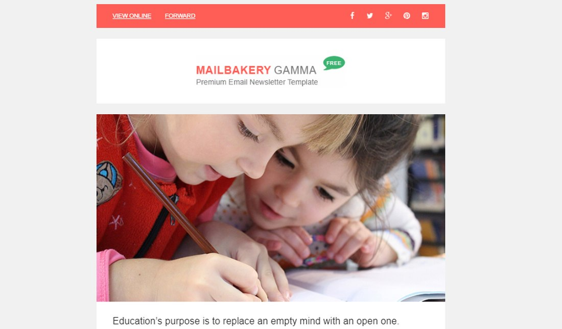 gamma-free-email-template