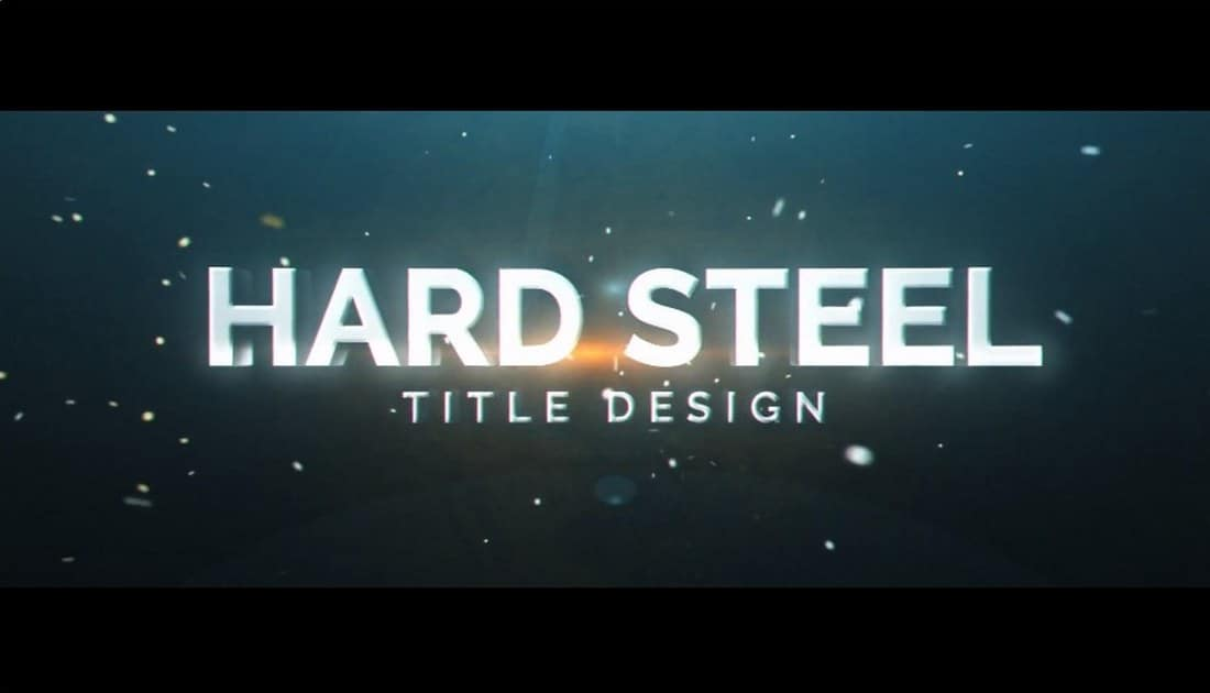 hard steel-premiere-pro-animated-title-template