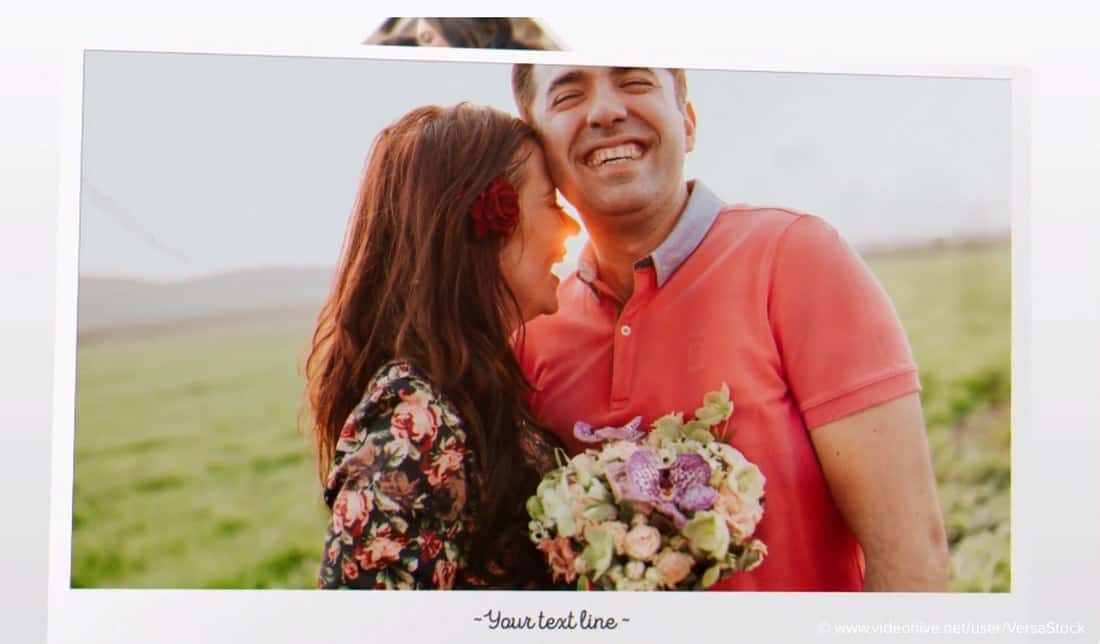 romantic slideshow-adobe-after-effects-template