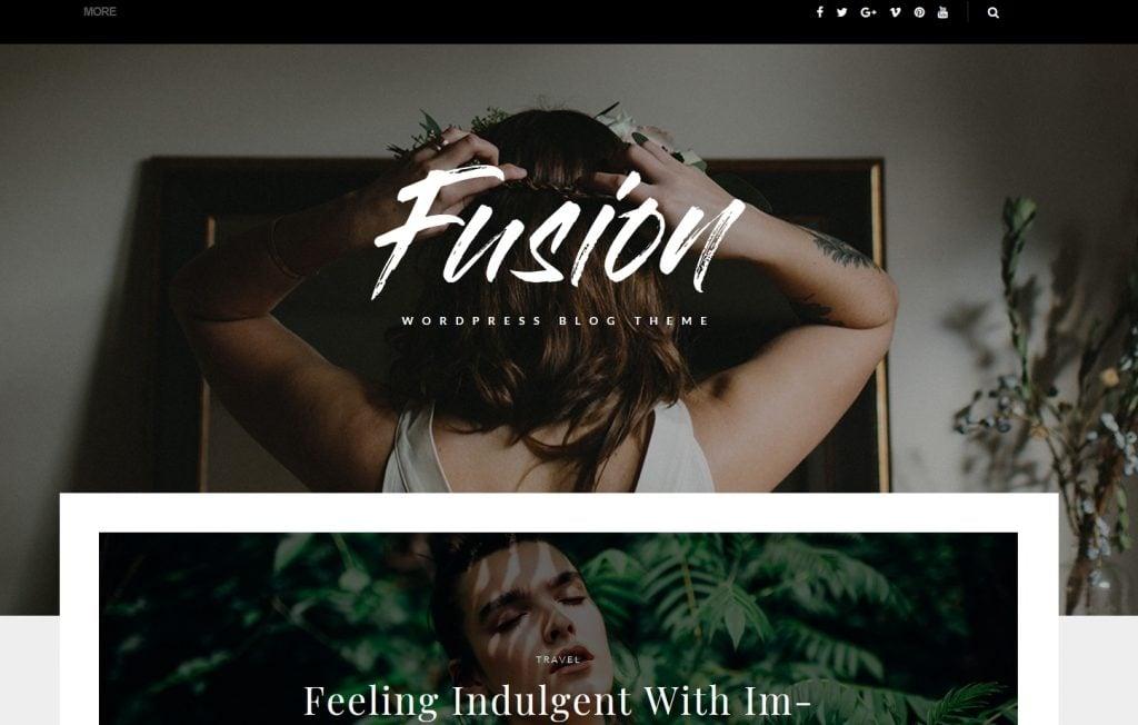 Fusion - WordPress Blog Theme