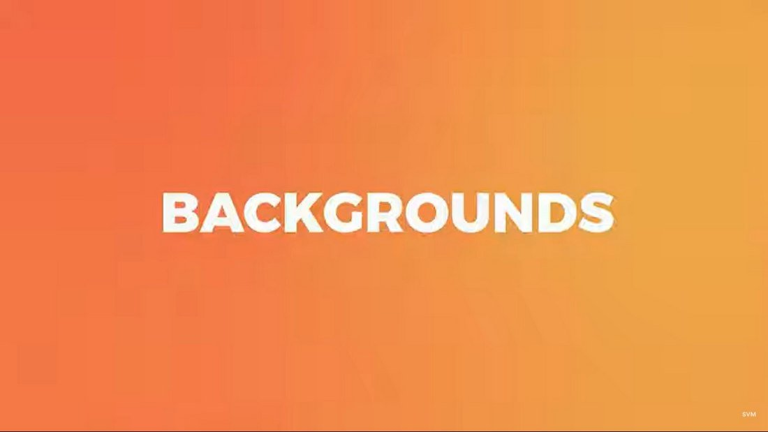 50 Free Animated Backgrounds for Final Cut Pro