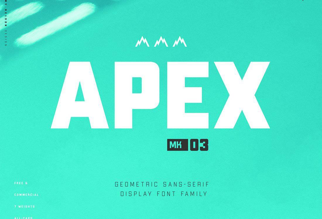 Apex MK3 - Free Display Font