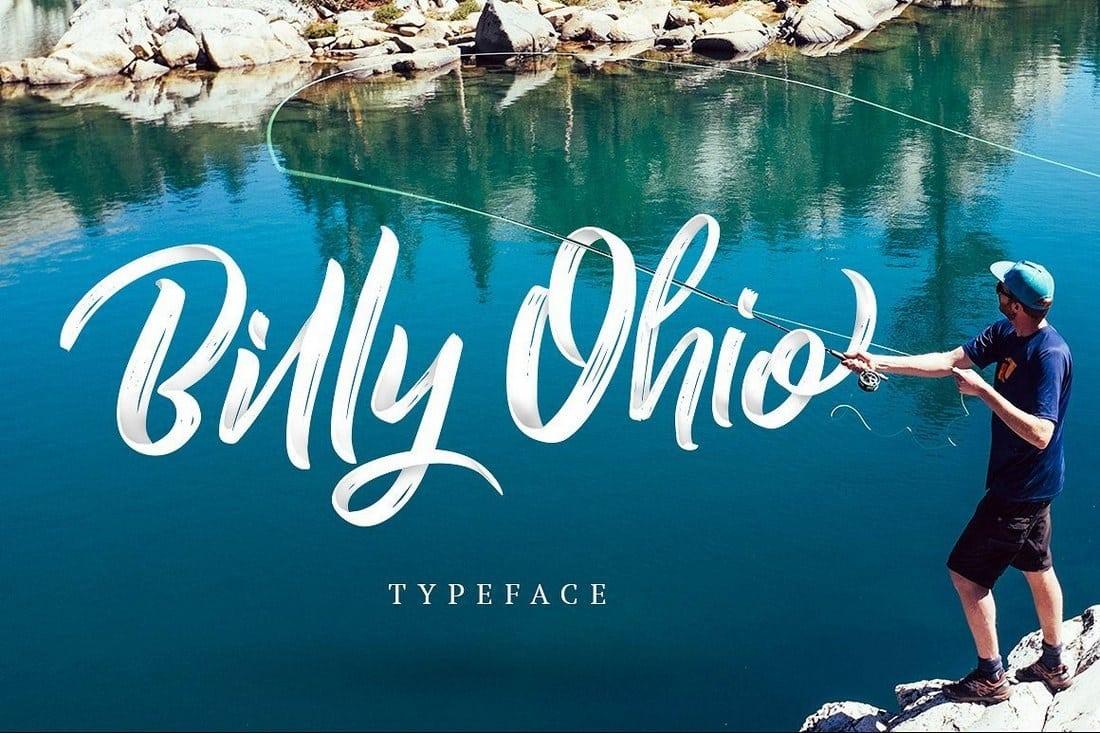 Billy Ohio Typeface