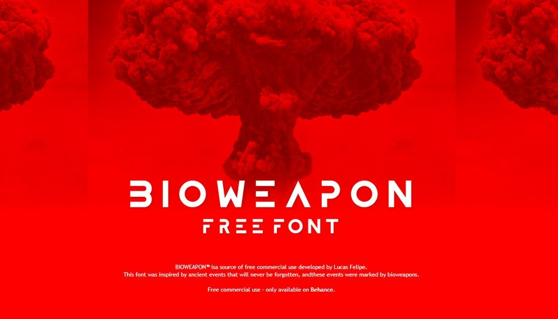 Bioweapon - Free Creative Font