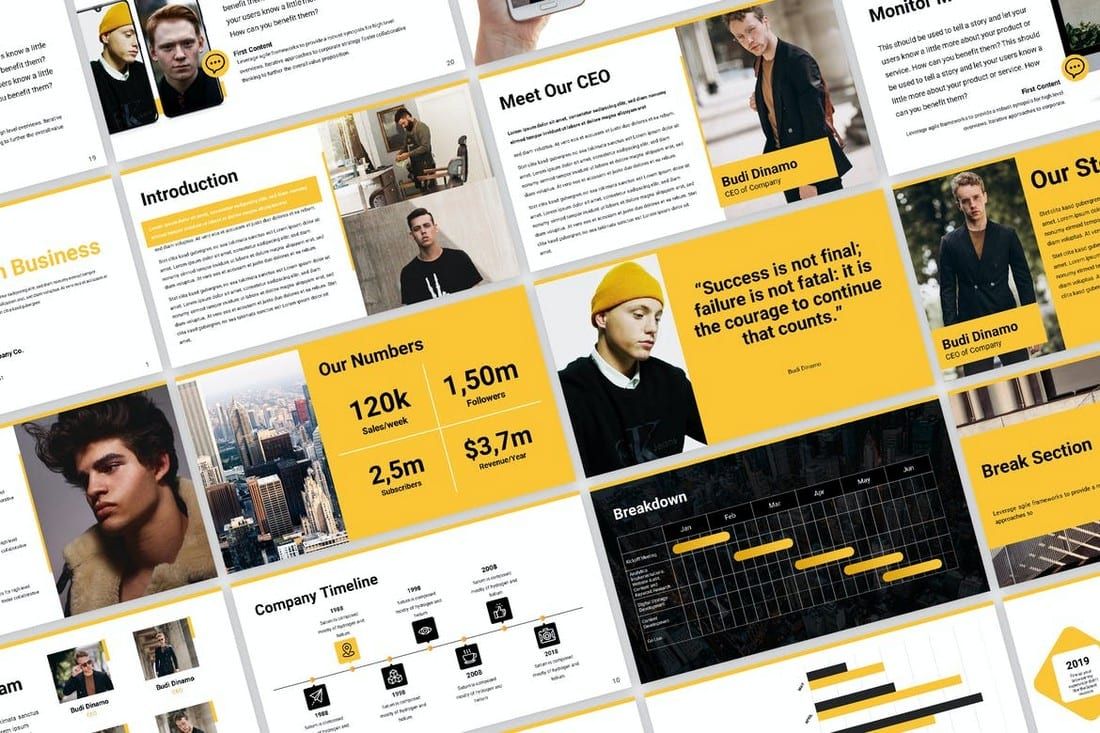 Business Proposal Pitch Deck Template