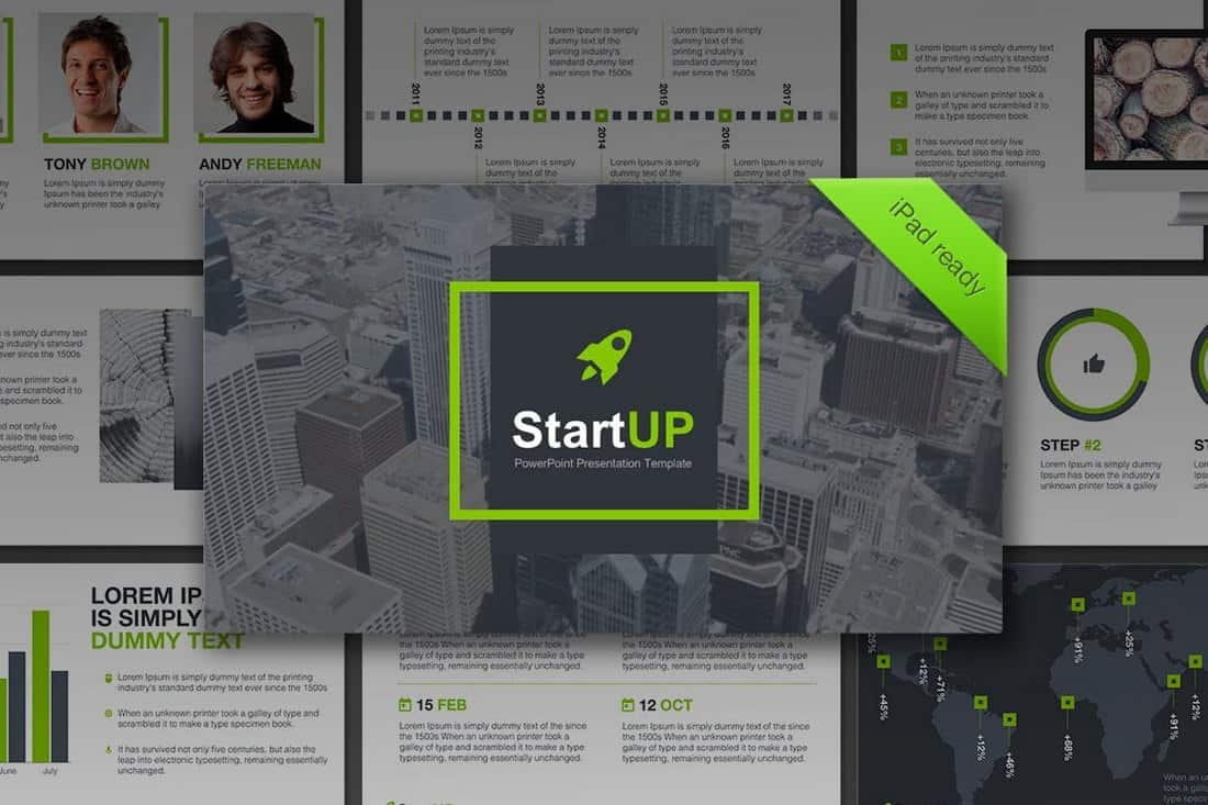 Colorful - Startup Pitch Deck Template For PowerPoint