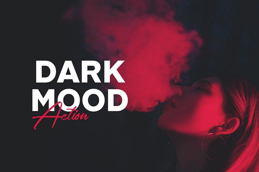 Dark Mood - Free Photoshop Action