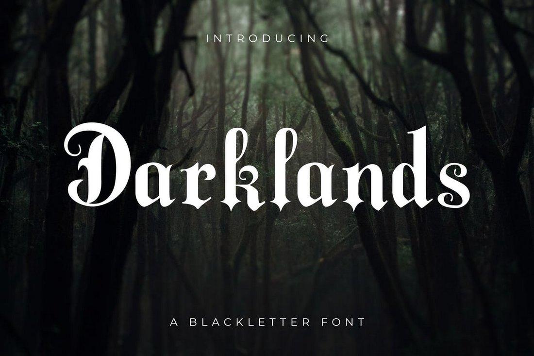 Darklands - A Modern Blackletter Font