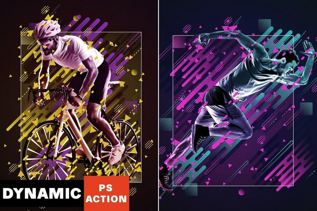 Dynamic Photography Effect Photoshop Action