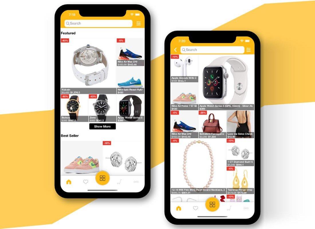 Ecommerce iOS App Template copy